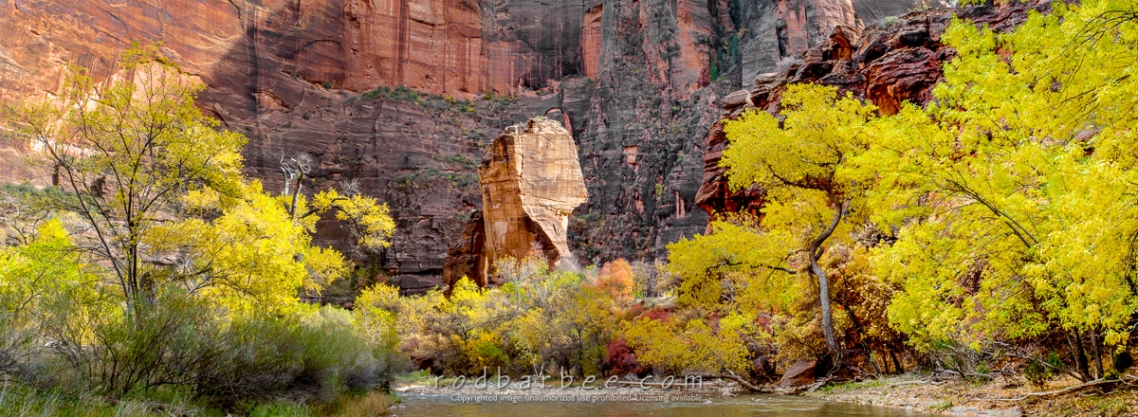 """Virgin River and """"The Pulpit"""" in the Temple of Sinewava"""
